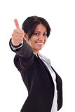 Woman making ok sign Royalty Free Stock Photo
