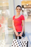 Woman in mall Stock Image