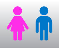 Woman and man Stock Images