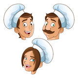 Woman and man chefs people design Royalty Free Stock Images