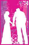 Woman & Man Holding Hands V1 Stock Images