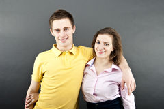 Woman and man together Stock Photography