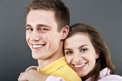 Woman and man together Royalty Free Stock Photos