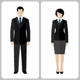Woman and man Royalty Free Stock Image