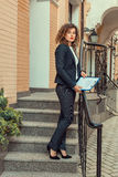 Woman manager. Stock Image