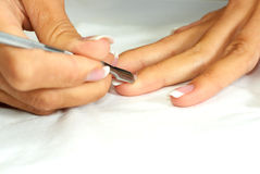Woman manicure Royalty Free Stock Image