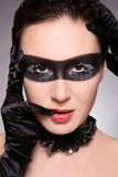 Woman in mask Royalty Free Stock Image