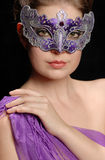 Woman in mask Royalty Free Stock Images