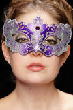 Woman in mask Stock Photos