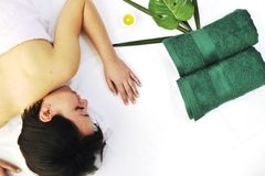 Woman massage Royalty Free Stock Photos
