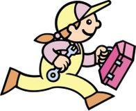 Woman Mechanic Stock Image