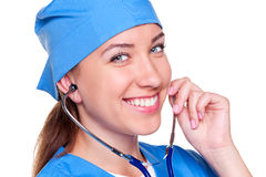 Woman medical professional Stock Image