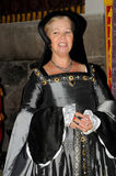 Woman in medieval dress Stock Photos