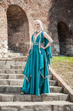 Woman In Medieval Times Stock Photos