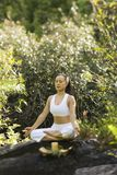 Woman meditating. Stock Images