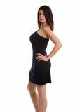Woman in mini skirt Royalty Free Stock Photo