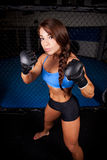 Woman MMA Fighter Stock Photos