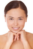 Woman model with clean skin Stock Image