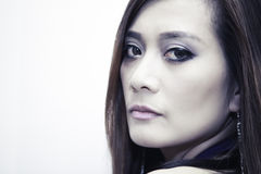 Woman modeling Stock Image