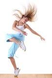 Woman modern ballet dancer Stock Photography