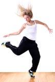 Woman modern ballet dancer Royalty Free Stock Photo