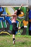 Woman modern ballet dancer Royalty Free Stock Photos