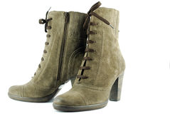 Woman modern boots Stock Image