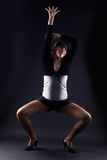 Woman modern dancer Stock Photos