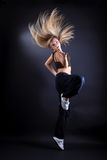 Woman modern dancer Stock Photography