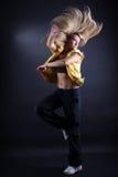 Woman modern dancer Stock Photo