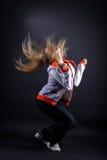 Woman modern dancer Stock Image