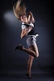 Woman modern dancer Royalty Free Stock Photo