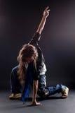 Woman modern dancer Stock Photography