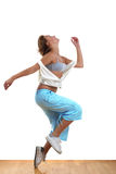Woman modern dancer Stock Photo