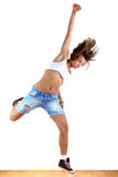 Woman modern dancer Royalty Free Stock Photo