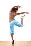 Woman modern dancer Stock Photos