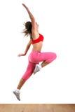 Woman modern dancer Stock Images