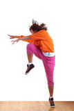 Woman modern dancer Royalty Free Stock Image
