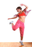 Woman modern dancer Royalty Free Stock Photos