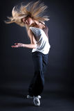 Woman modern dancer in action Stock Photo