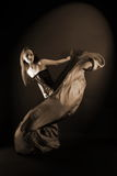 Woman modern dancer Royalty Free Stock Photography