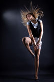 Woman modern P'nB dancer Royalty Free Stock Image