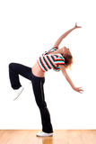 Woman modern sport dancer Royalty Free Stock Photos