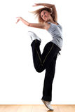 Woman modern sport dancer Stock Photo