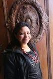 Woman at Mohammed Ali Palace Stock Image