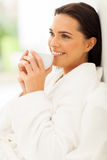 Woman morning coffee Royalty Free Stock Photo