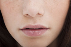 Woman mouth Royalty Free Stock Image