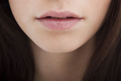 Woman mouth Royalty Free Stock Images