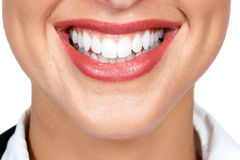 Woman mouth Stock Photography