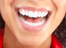 Woman mouth Stock Images